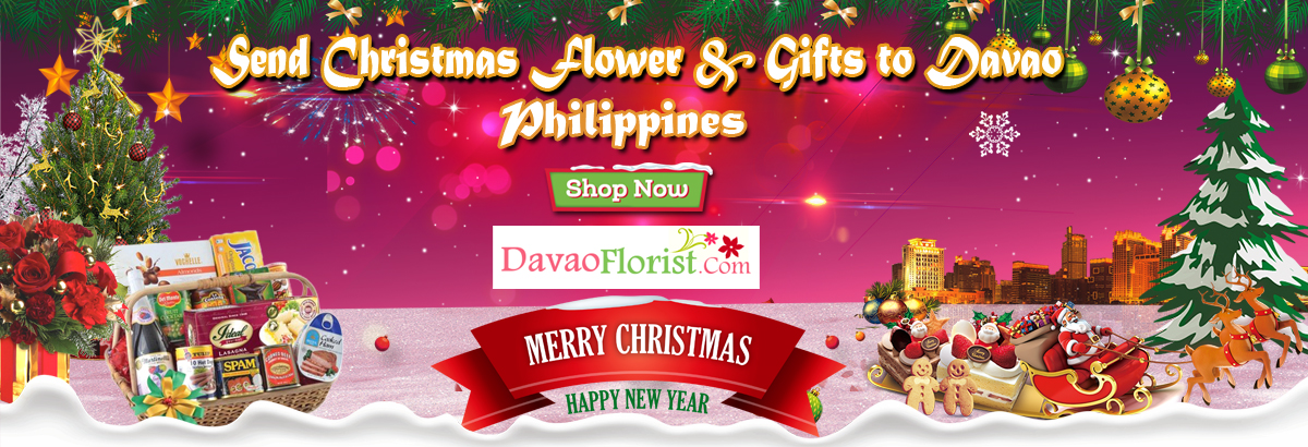 send christmas flower and gifts to davao, Philippines