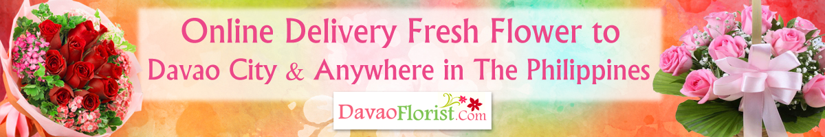 delivery fresh flower to davao philippines