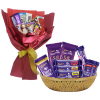 send chocolate bouquet to davao, chocolate basket to davao