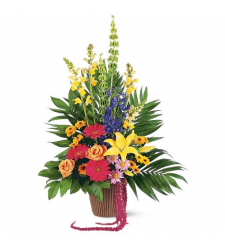 Send Celebration of Life Flower Arrangement To Cebu