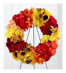 Send Blazing Blooms Wreath To Cebu