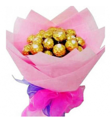 12pcs Ferrero Rocher in Bouquet Online to cebu.