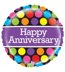 happy anniversary 1pc. mylar balloon to cebu