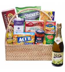 Holiday Grocery Gift Basket - 04