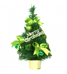 send 1ft green mini decorated christmas tree to cebu