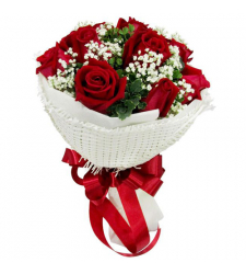 send 12 red rose bouquet to davao philippines