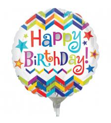 Single Birthday Mylar Balloon
