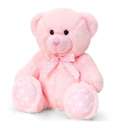 "Small Size Pink Teddy Bear 8"" Inches"